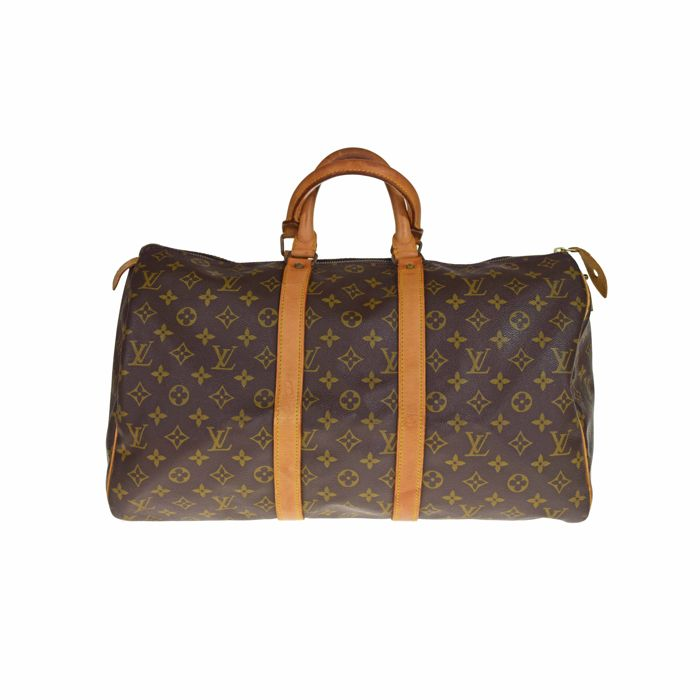 Louis Vuitton - Monogram Keepall 45  Reistas - Vintage