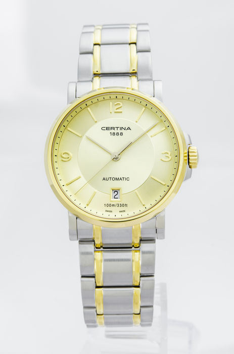 Certina - DS Caimano Automatic Champange Dial - C017.407.22.027.00 - Heren - 2011-heden