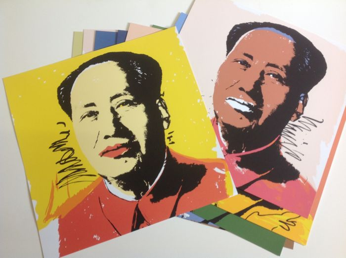 Andy Warhol (after) - Mao