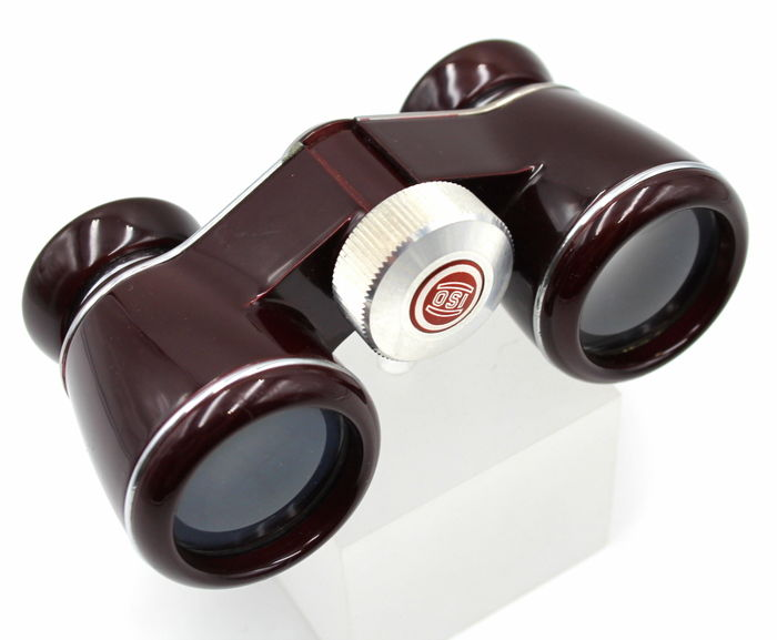 "Opera glasses circa 1950 - Thalia ""iso"" 3x30 magnification New from shop Ottica Milano"