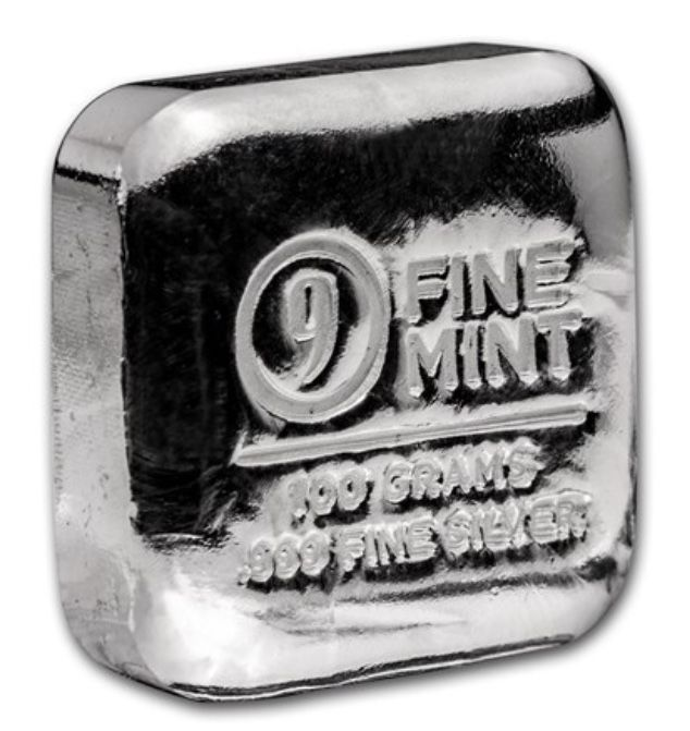 9Fine Mint - 100 g - 999.9 - Minted - Sealed