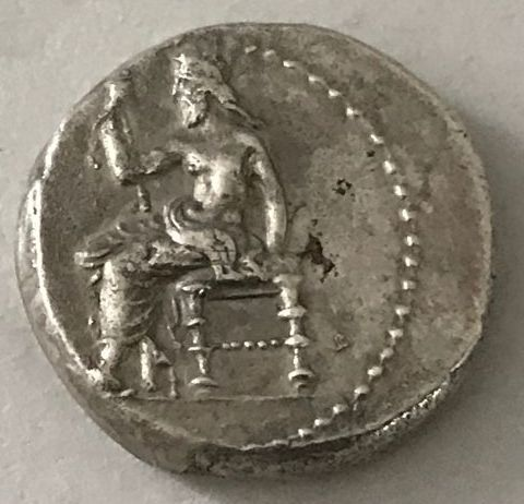 Greece (ancient) -  Mesopotamia. Babylon. Unc. satraps. AR Tetradrachm, 328-311 B.C.  - Silver