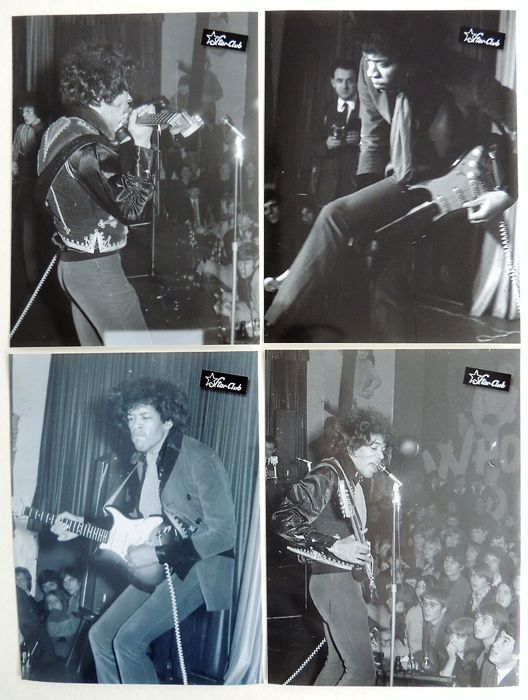 Extraordinary rare Jimi Hendrix 1967 Photos Starclub Germany
