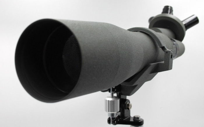 Telescope 1970 PALLAS - made in JAPAN, 4 zoom 20-60x80mm + tripods New from shop Ottica Milano