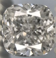 0.65 ct Cushion cut- D VS1 With GIA  - Low Reserve Price - Amazing-Diamond