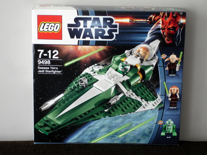 Star Wars - 9498 - Saesee Tinn's Jedi Starfighter