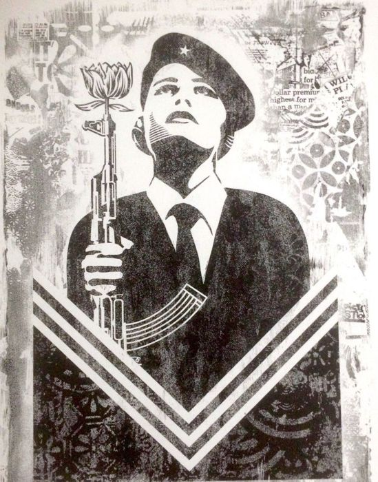Shepard Fairey (OBEY) - Peace Guard