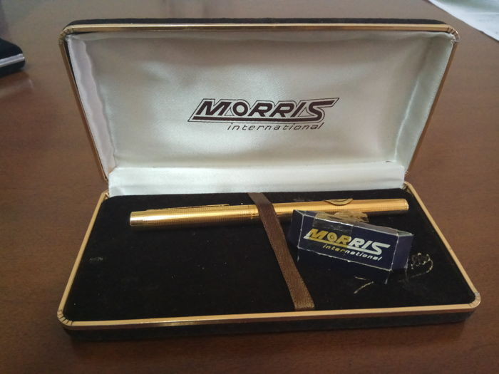 Morris gold-plated fountain pen