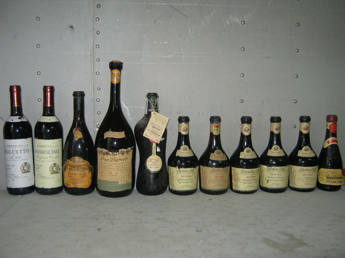 Piedmont wines - 11 bottles