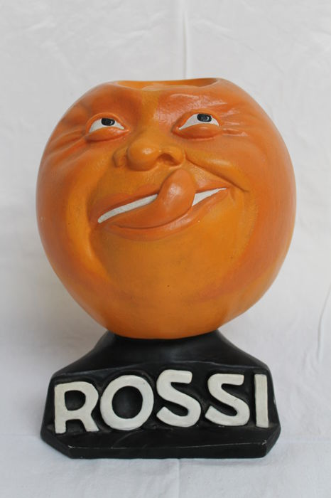 Advertising - display for ROSSI drink - circa 1940