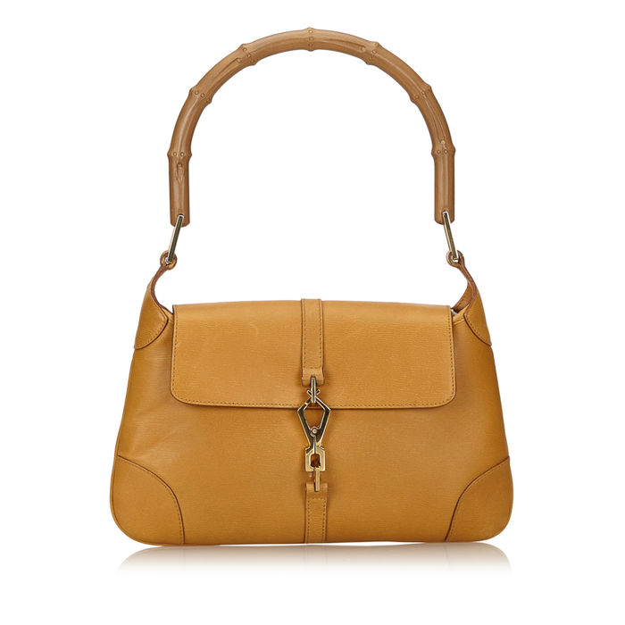 Gucci - Bamboo Leather Jackie