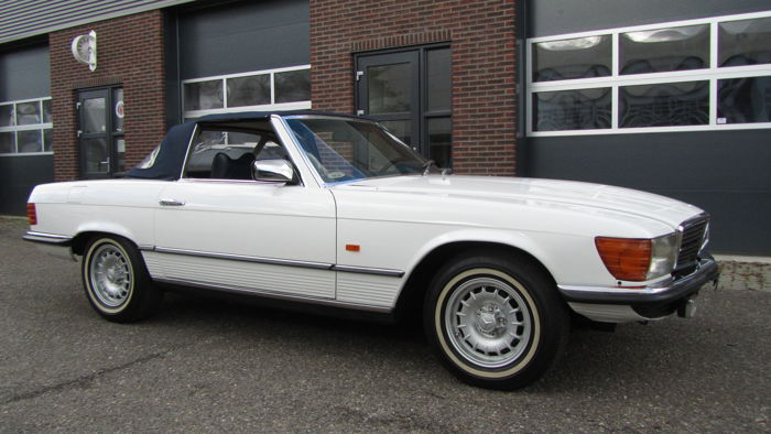 Mercedes-Benz - 280 SL Convertible soft- and hardtop - 1980