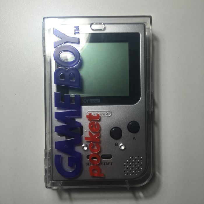 Limited Edition Nintendo Game boy Gameboy Pocket Silver Console as new -  Catawiki