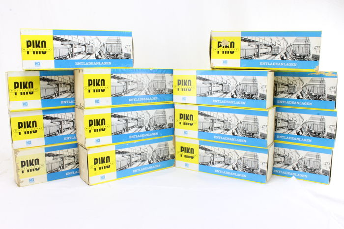 Piko H0 - 6830/6831 - Scenery - High and low unloading bridges - x