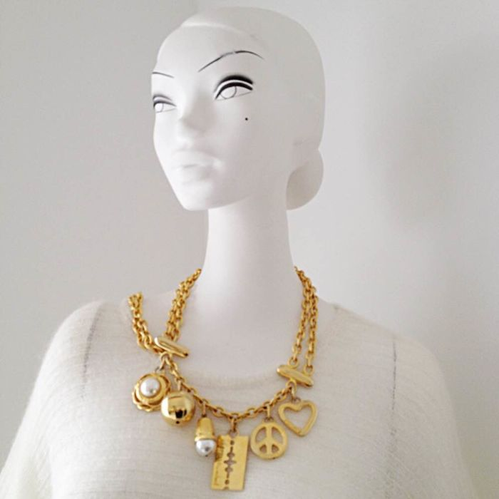 Moschino - Charm belt / necklace - Vintage