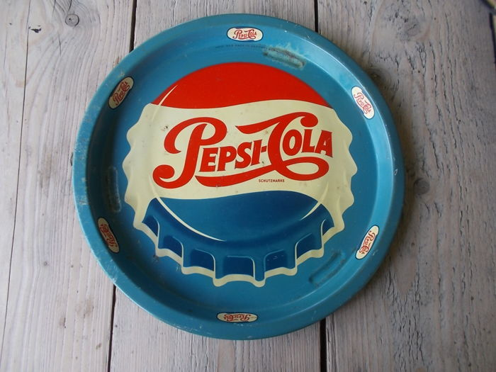 "Old tray ""Pepsi Cola"", 1950s"
