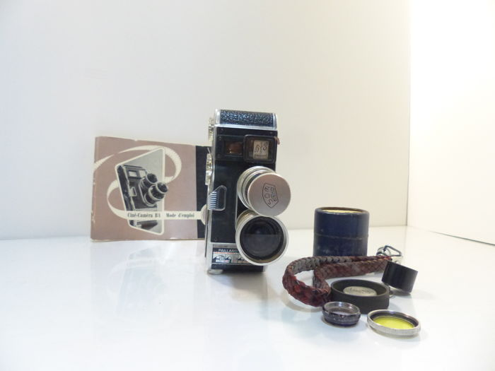 camera paillard bolex B8 1956 with 2 lenses