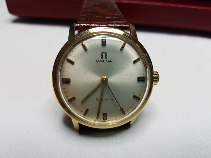 Men's Omega in 18 kt gold