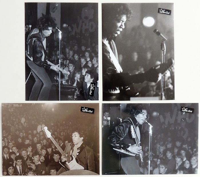 Jimi Hendrix 1967 Photos Starclub Germany