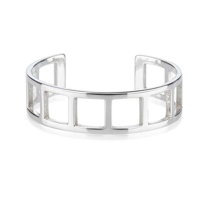 627be2b23 Gucci - Silver Bangle - Catawiki
