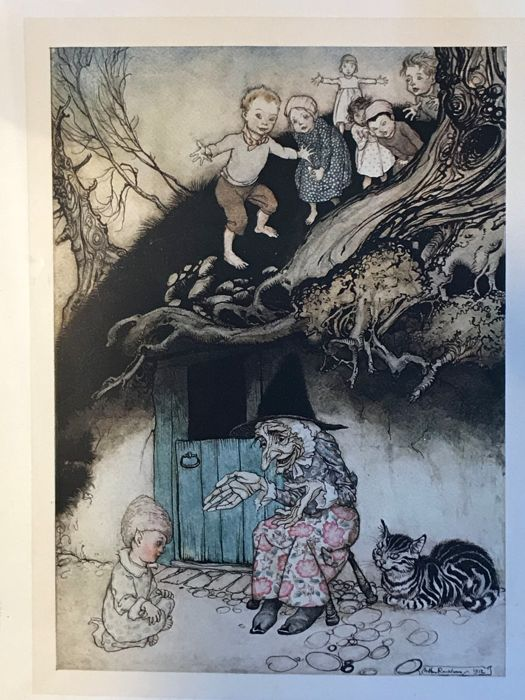 Arthur Rackham - Mother Goose: The Old Nursery Rhymes - 1913