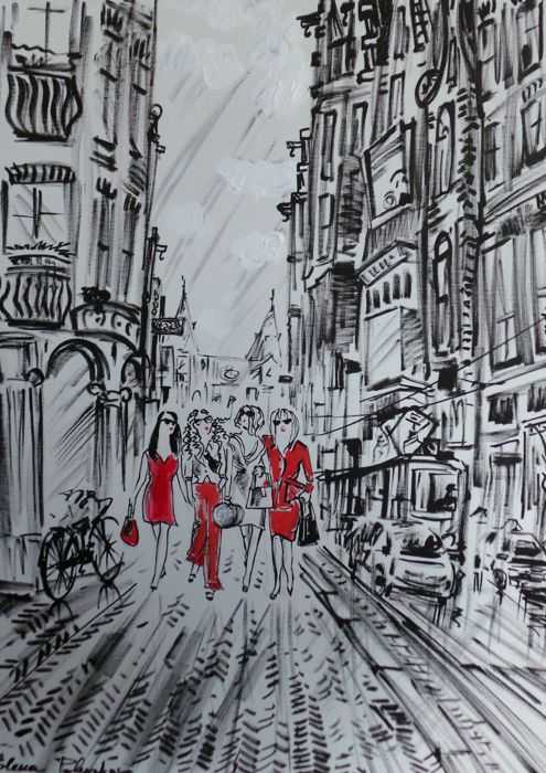 Elena Polyakova - Girls in Amsterdam