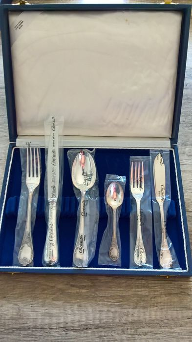 60 piece CHRISTOFLE MARLY set