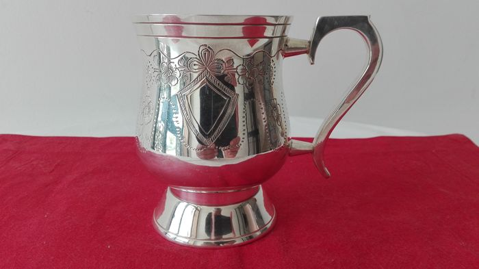 English Sheffield Silver Milk Jug