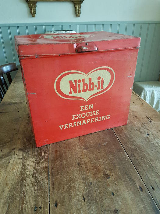 Shop tin - Nibb-it - 1950s/60s