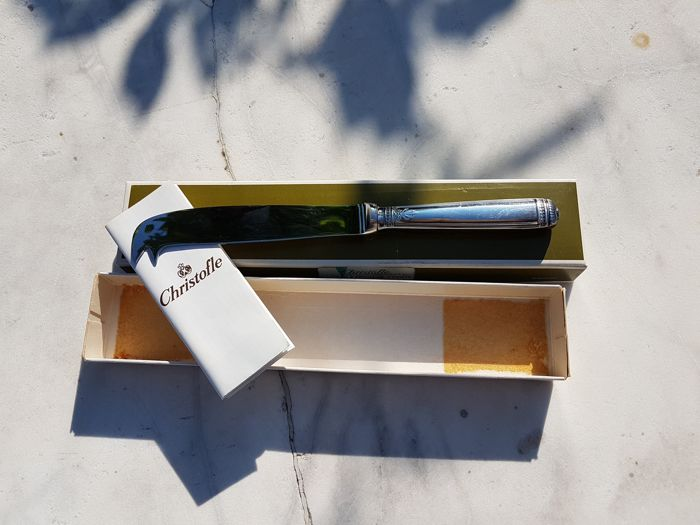 """Malmaison"" cheese knife, from Christofle brand"