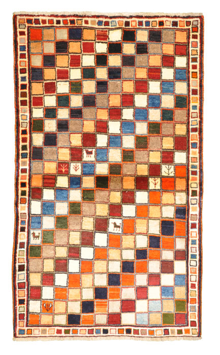 Old Persian Gabbeh, approx. 166 x 98 - Iran