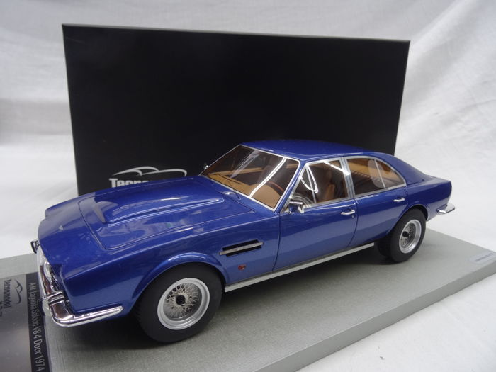 Technomodels - Schaal 1/18 - Aston Martin Lagonda Saloon 1974 V8 - Four Doors - Limited 70 pcs