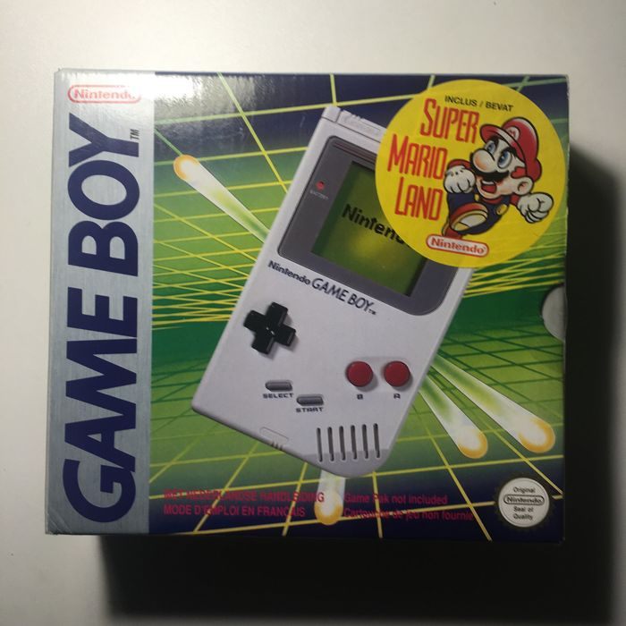 Limited Edition Nintendo Game boy Gameboy Classic DMG-01 Console Factory Sealed