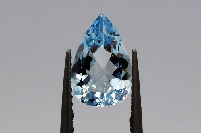 Aquamarine - Blue - 1.67 ct