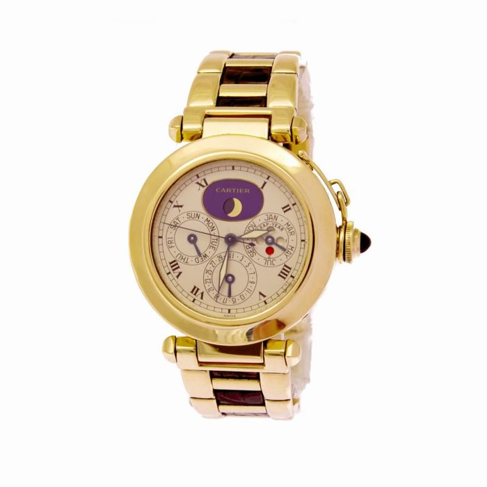 Cartier - Cartier Pasha 30003 perpetual yellow gold - 30003 - Unisex - .