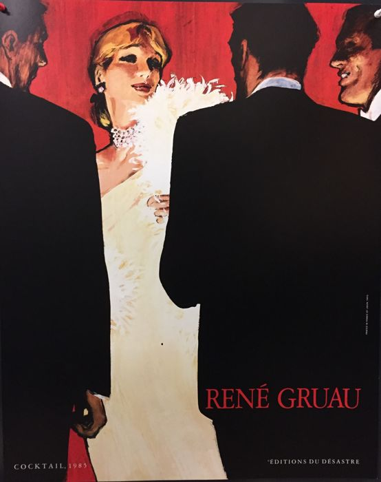 Rene Gruau - Cocktail (1985) - ca. 1989