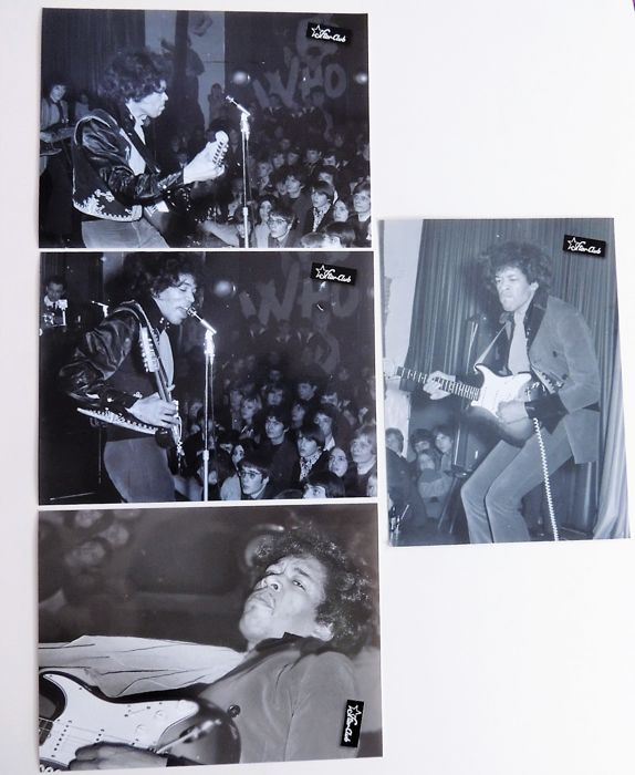 Photo Set Jimi Hendrix 1967 Photos Starclub Germany