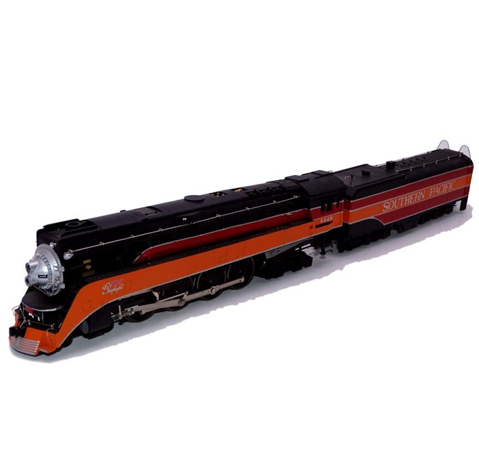 Bachmann H0 - 11301 - Stoomlocomotief met tender - GS-4 Daylight - Southern Pacific