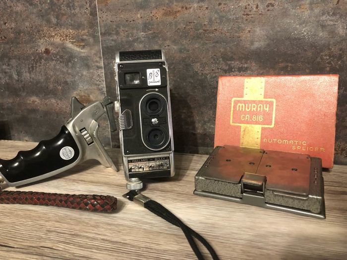 bolex - paillard B8 + grip + murray splicer