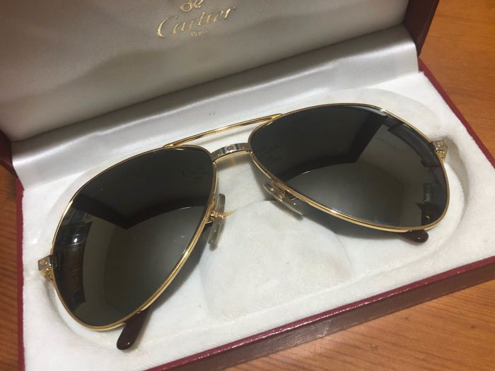 Cartier - Sunglasses Cartier Santos Sunglasses - Vintage