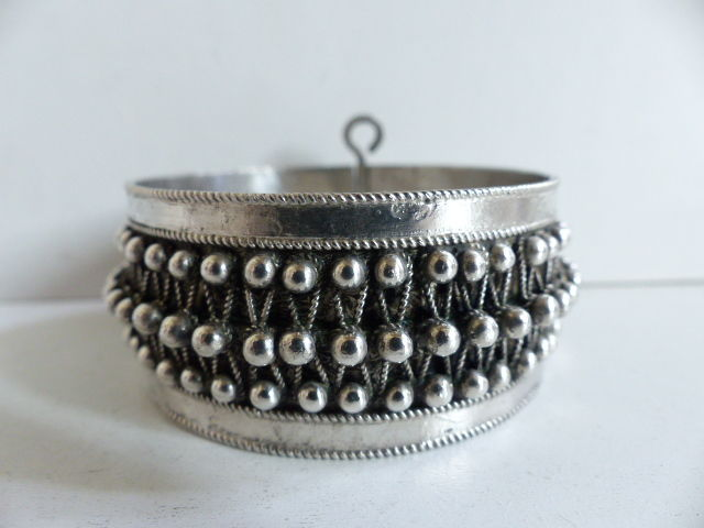 Bracelet in solid silver - Algeria - 2nd part of the 20th century
