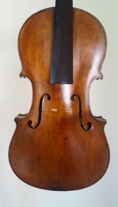 Old antique interesting violin
