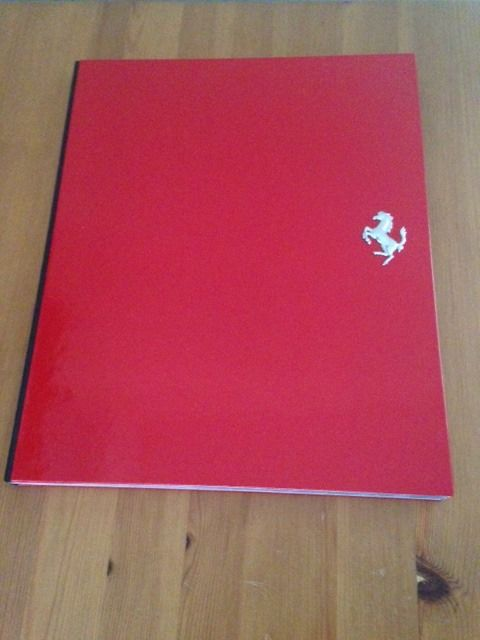 Ferrari F50 Hardcover Sales Brochure Complete in box Collector's Item