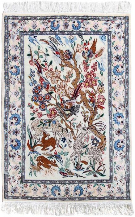 Hand knotted Naein Persian Rug