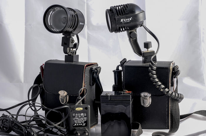2 x STITZ VL-DC 100 T photo and video light