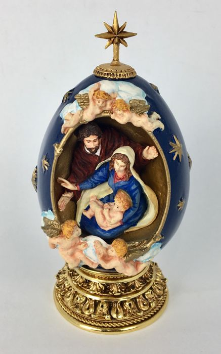 Egg by House of Fabergé - Limited Edition - The Nativity