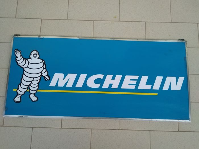 Michelin Advertising Sign