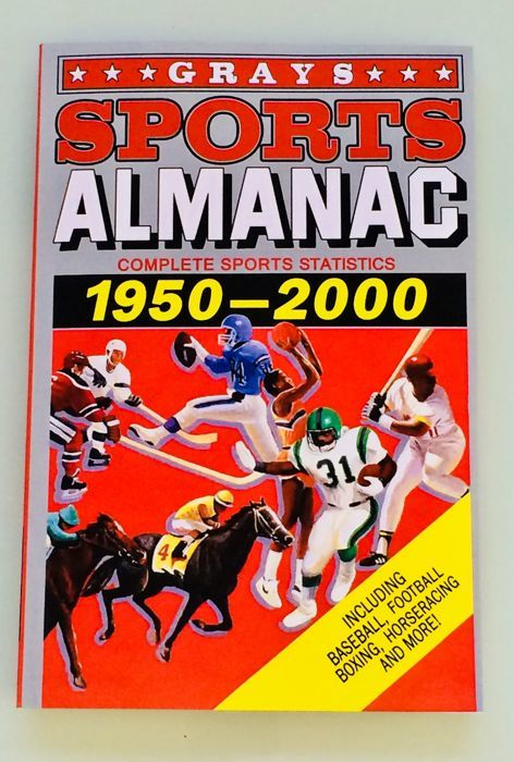 Back to the Future - Gray Sports Almanac (156 pages) Complete Sports Statistics 1950-2000 - Mint Condition - Replica