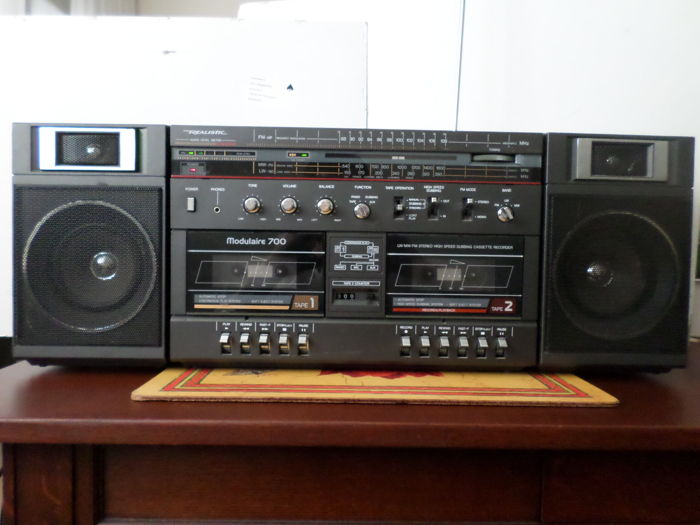 37f8ad27c0d64a Realistic Modulaire 700 vintage ghettoblaster boombox 1980s - Catawiki