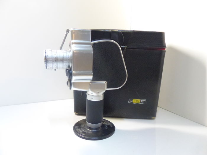 camera gevaert zoomex with angénieux lens